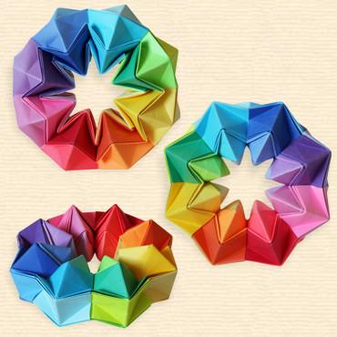 Magic Star 48 Squares By The Shumakovs